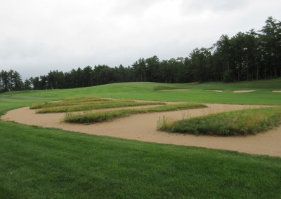 Northern Bay Castle Course Hole 12 Replica Bunkers