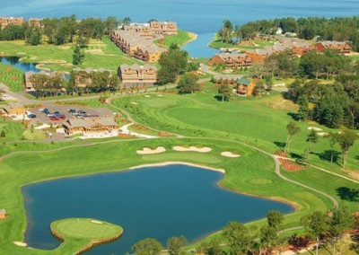 Northern Bay Castle Course Resort Aerial
