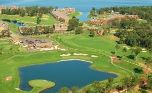 Northern Bay Castle Course Resort Aerial