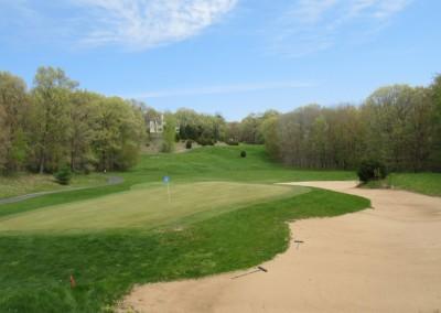 Christmas Mountain Oaks Course Hole 12 Green