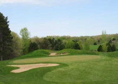Christmas Mountain Oaks Course Hole 15 Green