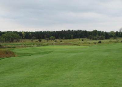 Erin Hills Golf Course Hole 1 Approach
