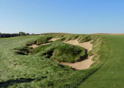 Erin Hills Golf Course Hole 1 Bunker