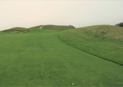 Erin Hills Golf Course Hole 14 Approach