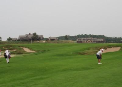 Erin Hills Golf Course Hole 18 Approach