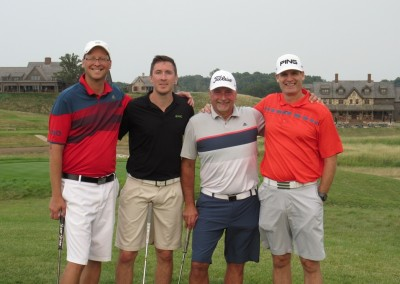 Erin Hills Golf Course Hole 18 Group Photo