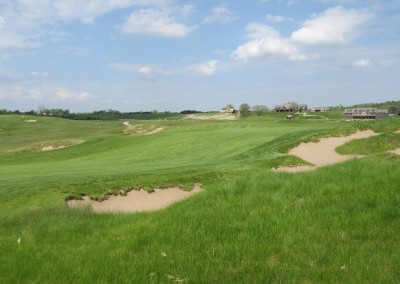 Erin Hills Golf Course Hole 18 Rough