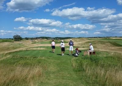 Erin Hills Golf Course Hole 18 Tee Box