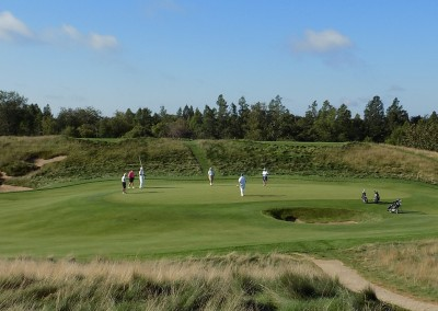 Erin Hills Golf Course Hole 2 Green