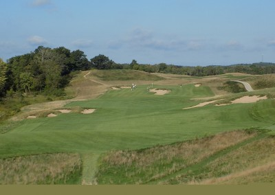 Erin Hills Golf Course Hole 3 Tee View