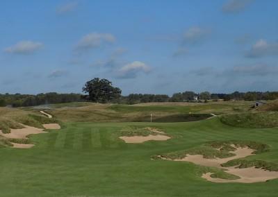 Erin Hills Golf Course Hole 4 Approach