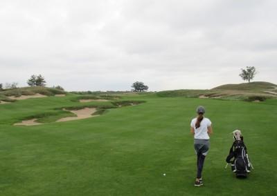 Erin Hills Golf Course Hole 4 Bunker