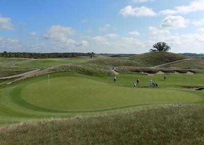Erin Hills Golf Course Hole 4 Green