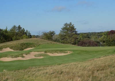 Erin Hills Golf Course Hole 4 Green Front