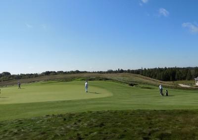 Erin Hills Golf Course Hole 6 Green Short