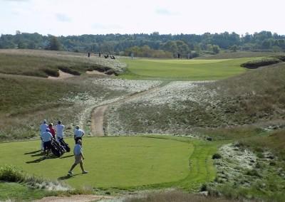 Erin Hills Golf Course Hole 6 Tee