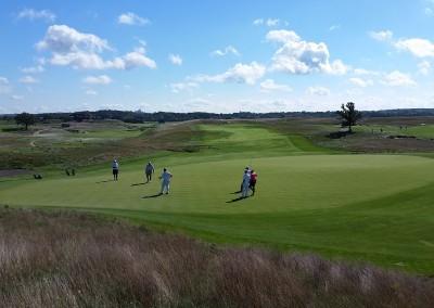 Erin Hills Golf Course Hole 7 Green