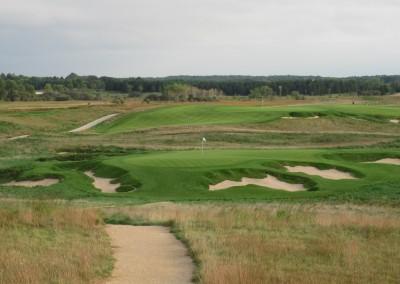 Erin Hills Golf Course Hole 9 Par 3