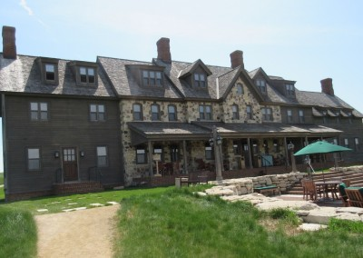 Erin Hills Golf Course Lodge Rear View