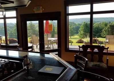Baraboo Country Club Clubhouse Bar View