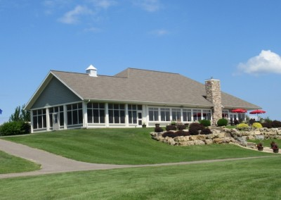 Baraboo Country Club Clubhouse Flag