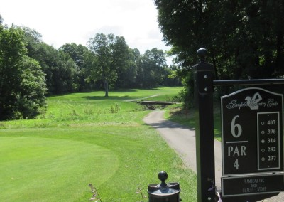 Baraboo Country Club Hole 6