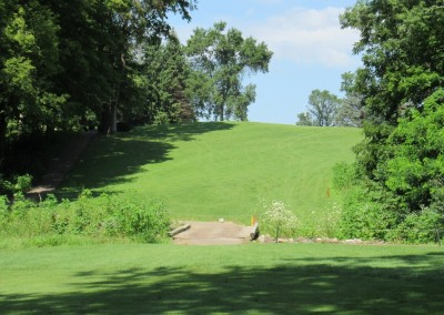 Baraboo Country Club Hole 8 Approach