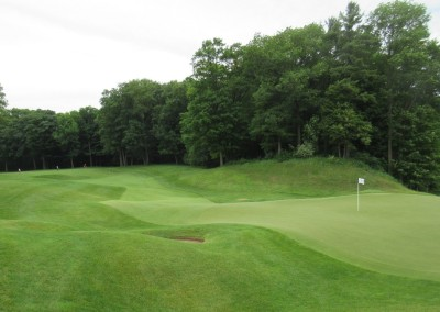 Blackwolf Run Meadow Valleys Course Hole 10 Green View
