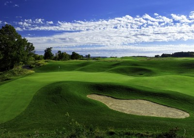 Blackwolf Run Meadow Valleys Golf Course Hole 10 Quiver Green