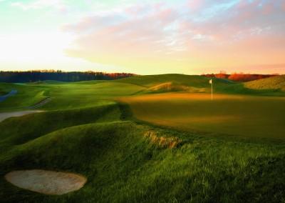 Blackwolf Run Meadow Valleys Golf Course Hole 11 High Country Green