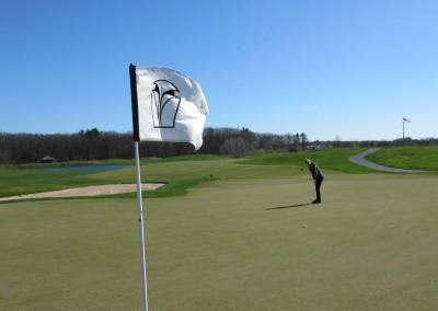Blackwolf Run Meadow Valleys Spring Hole 1 Flag