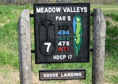 Blackwolf Run Meadow Valleys Spring Hole 7 Sign