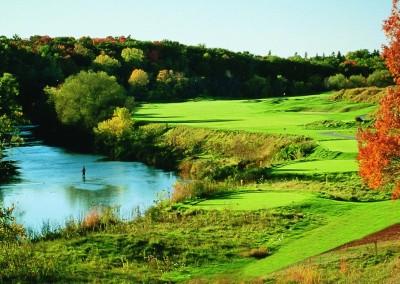 Blackwolf Run River Golf Course Hole 1 Snake Tee Box