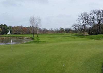 Blackwolf Run - River Golf Course Hole 11 Rise and Fall Green