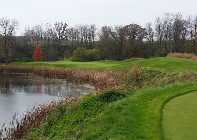 Blackwolf Run - River Golf Course Hole 17 Snapping Turtle Tee