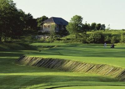 Blackwolf Run River Golf Course Hole 18 Dye Hard