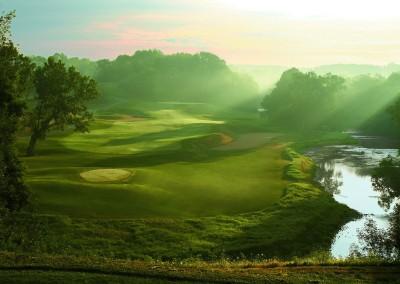 Blackwolf Run River Golf Course Hole 5 Made In Heaven Tee