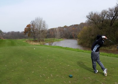 Blackwolf Run - River Golf Course Hole 9 Cathedral Spires Tee