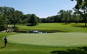 Meadowbrook Country Club Hole 9 Green