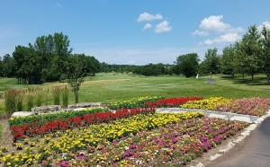 Whispering Springs Golf Course Hole 1 Flowers