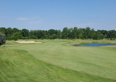 Whispering Springs Golf Course Hole 8
