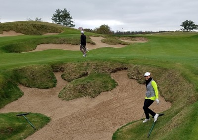 EHGE 2017 Erin Hills Hole 4 Bunker Cindy R