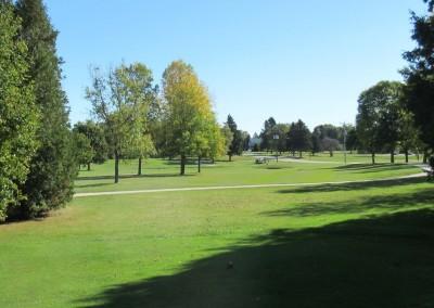 Fox Hills Resort Fox Creek Course Hole 1