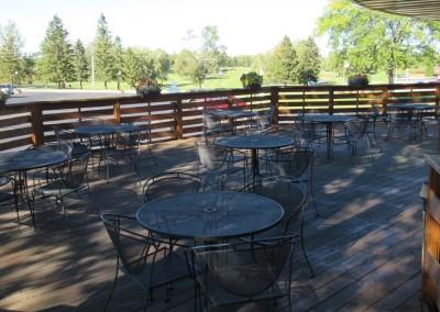 Fox Hills Resort Restaurant Patio