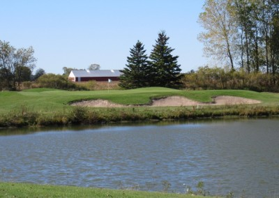 Fox Hills Resort The National Course Hole 4 Par 3 Green