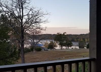 Big Cedar Lodge Lakeside Cottage View