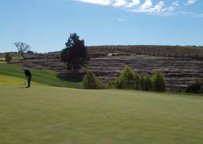 Buffalo Ridge Hole 2 Green