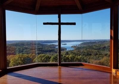 Top Of The Rock Hole 1 Church Window