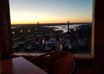 Top Of The Rock Osage Restaurant View
