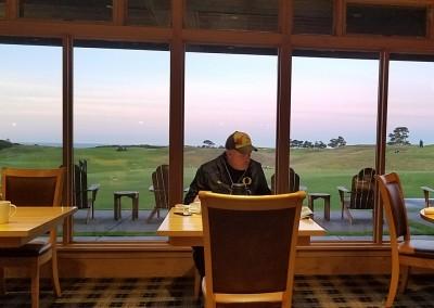 Bandon Dunes Clubhouse Breakfast Window